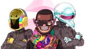 La mise en marche creative selon Daft Punk et Kanye West